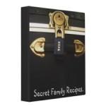 secret family recipe binder