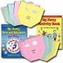 Boy Potty Party Supplies Kit: Toilet Training Book, Stickers, Chart, Invitations, Diaper Thank You Notes