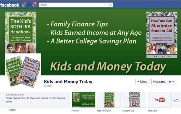 Kids and Money Today on Facebook
