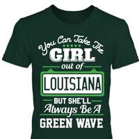 Tulane University T Shirt