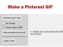 Make a Pinterest GIf