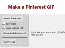 Make a Pinterest GIf