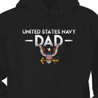 Navy Dad T Shirt